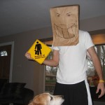horny dog sign bagman